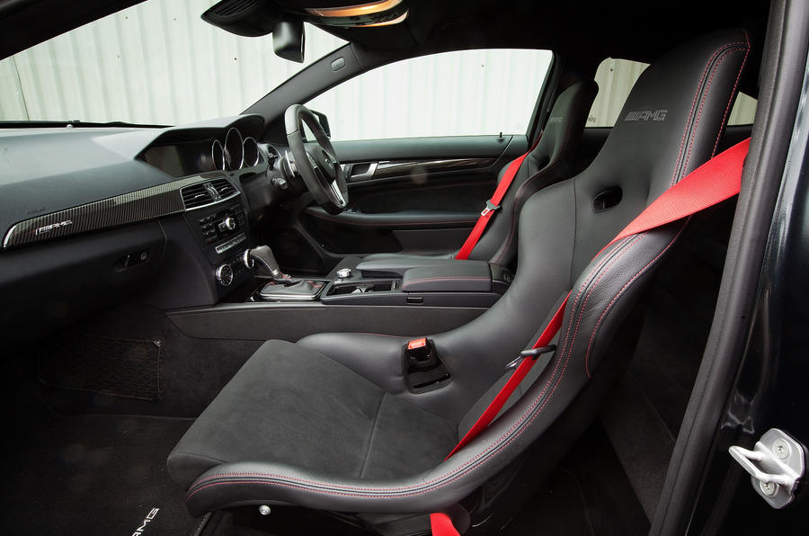 mercedes amg c 63 black series coup interior