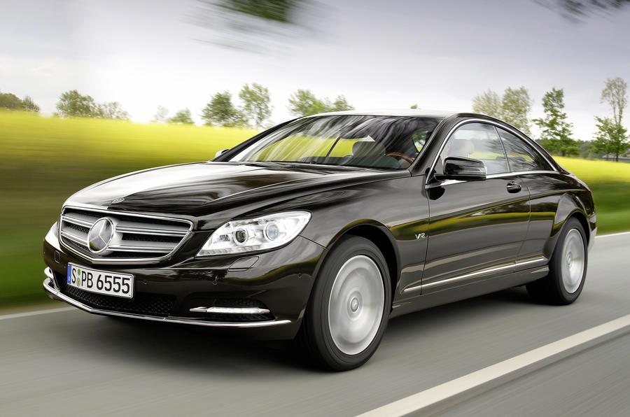 New Mercedes CL revealed