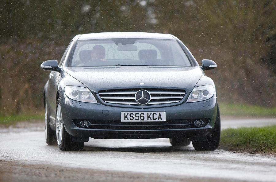 Mercedes-Benz CL cornering