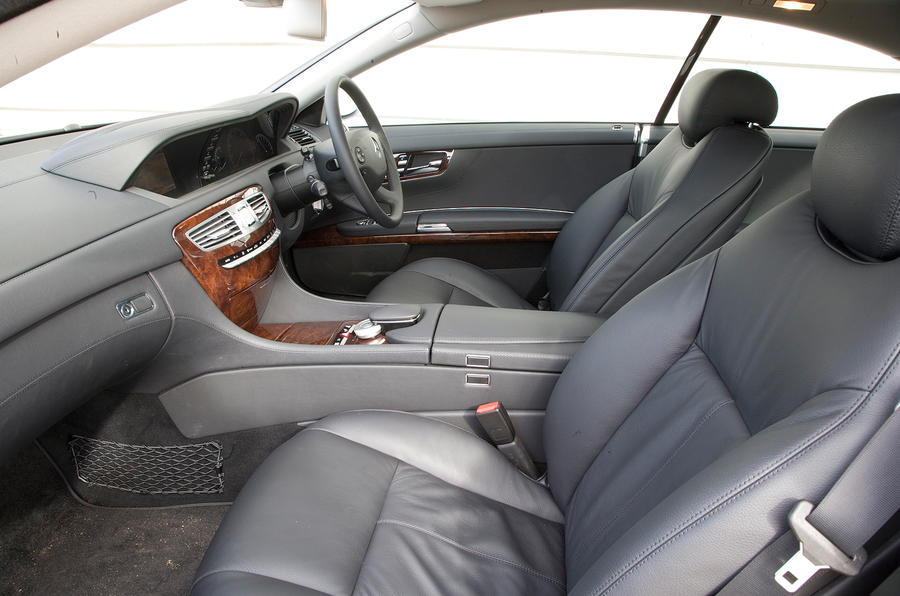 Mercedes-Benz CL interior