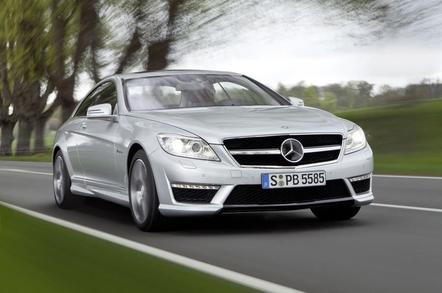 Mercedes CL63 AMG revealed