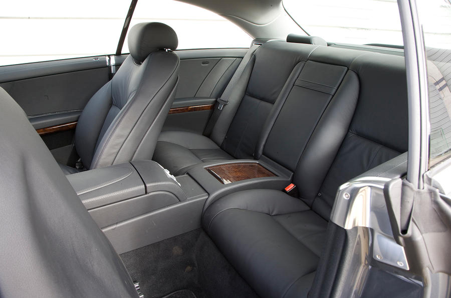 Mercedes-Benz CL rear seats