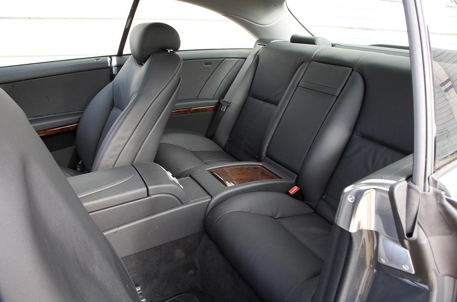 Mercedes-Benz CL rear seats