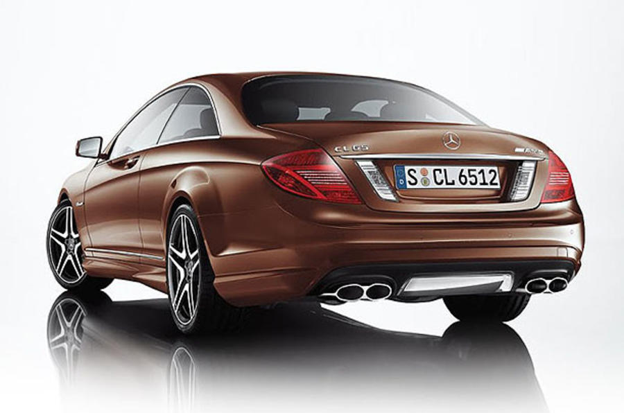 Paris motor show: Mercedes CL65 AMG