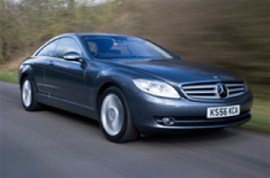 Merc CL gets four-wheel drive
