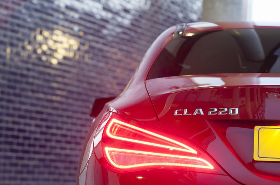 Mercedes-Benz CLA rear lights
