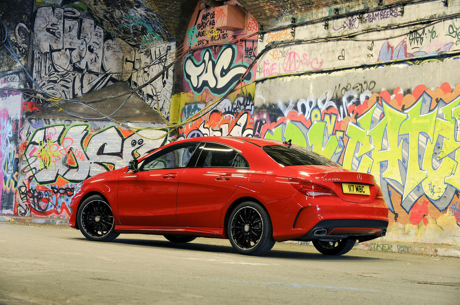 Mercedes-Benz CLA rear quarter