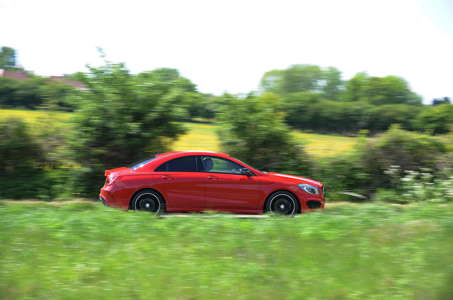 Mercedes-Benz CLA side profile