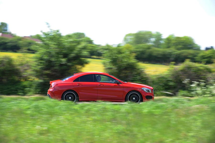 Mercedes-Benz CLA side profile