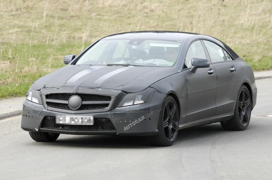 Next Mercedes CLS AMG: pics