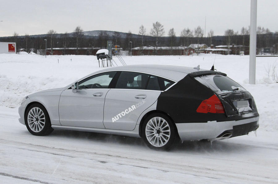 Merc CLS Shooting Brake: latest pics