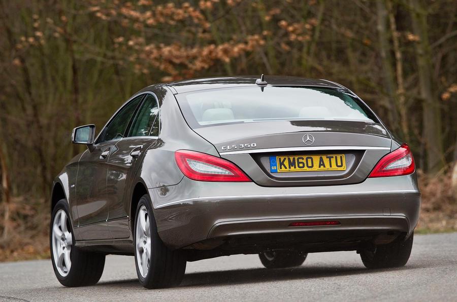 Mercedes-Benz CLS rear cornering