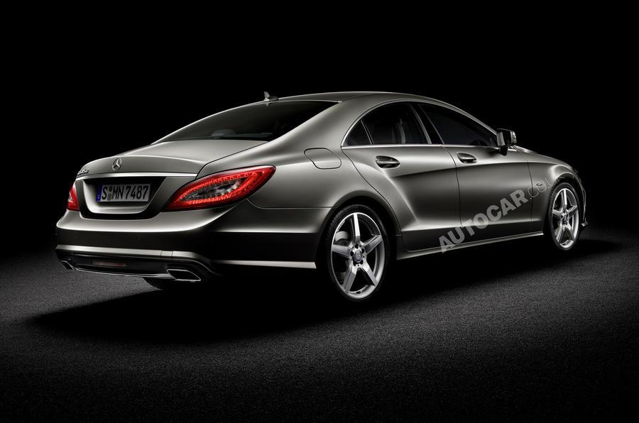 Paris motor show: Mercedes CLS