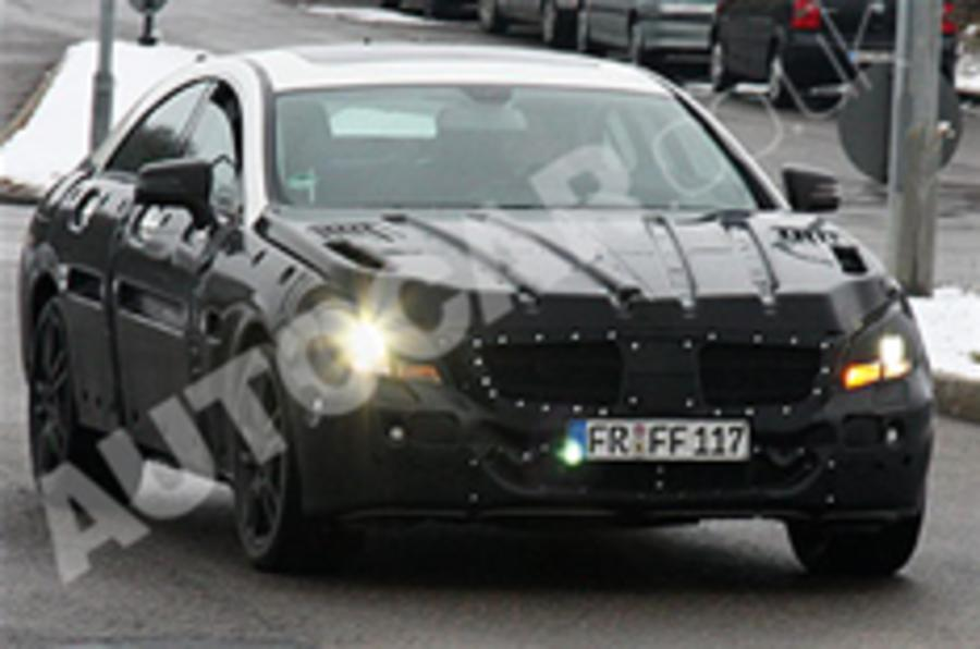 Spied: new Mercedes CLS