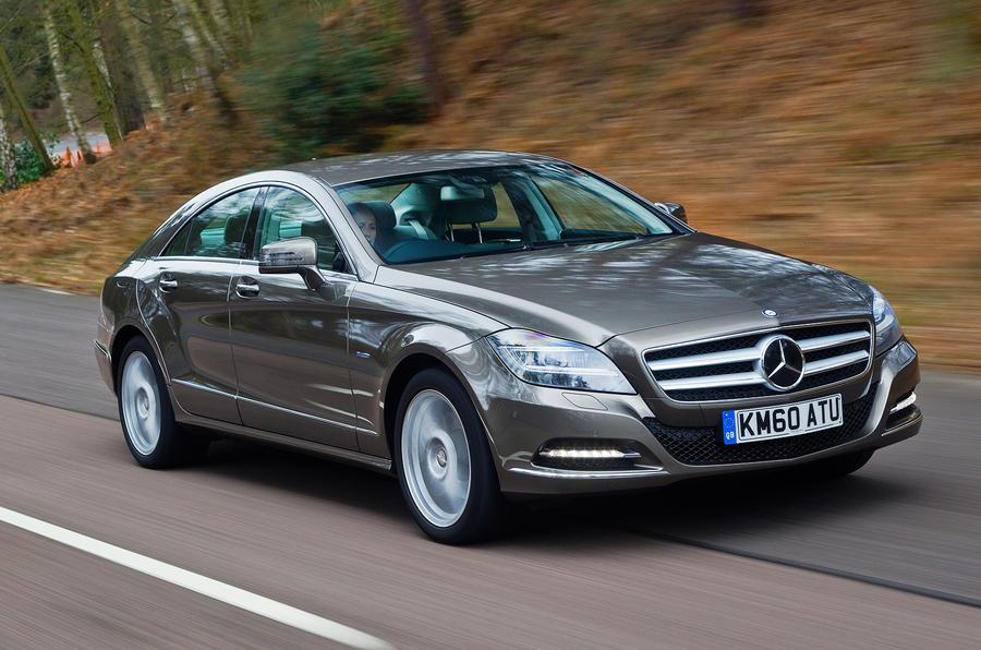 Mercedes-Benz CLS front quarter