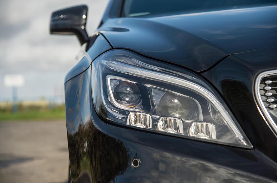 Mercedes-Benz CLS LED headlights