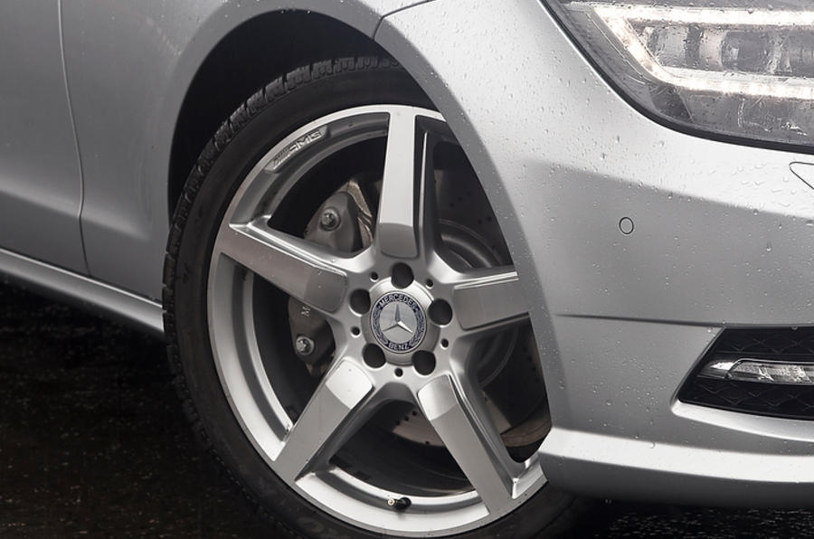 19in CLS Shooting Brake alloys