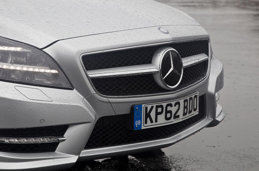 Mercedes-Benz CLS front grille