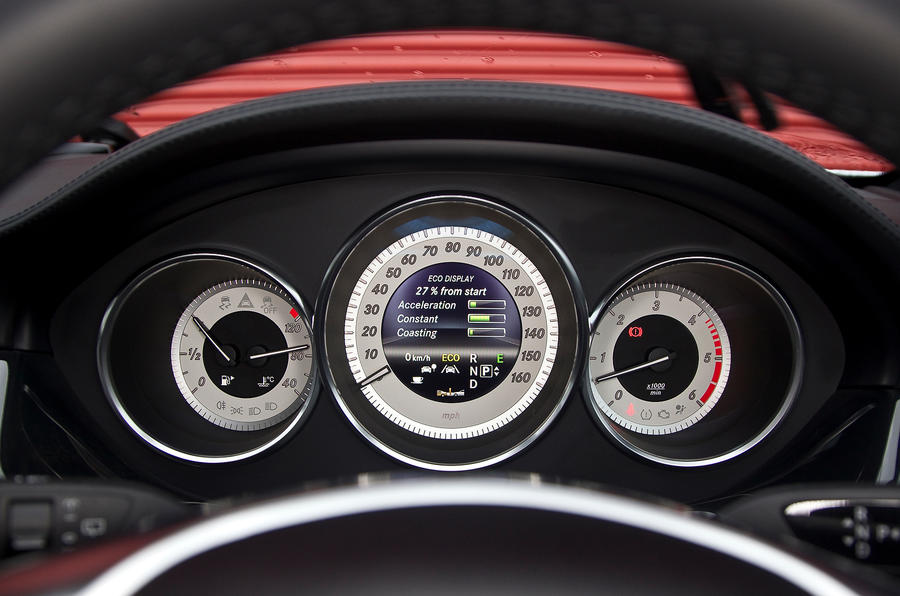 CLS Shooting Brake instrument cluster