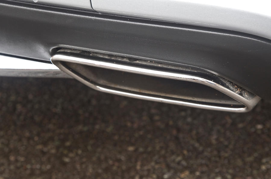 CLS Shooting Brake chrome exhausts