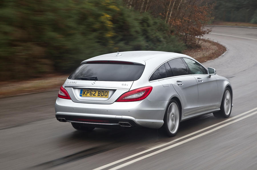 Mercedes-Benz CLS Shooting Brake rear cornering