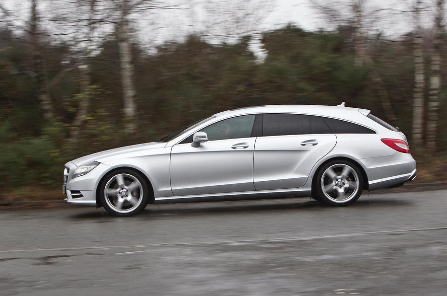 Mercedes-Benz CLS Shooting Brake side profile