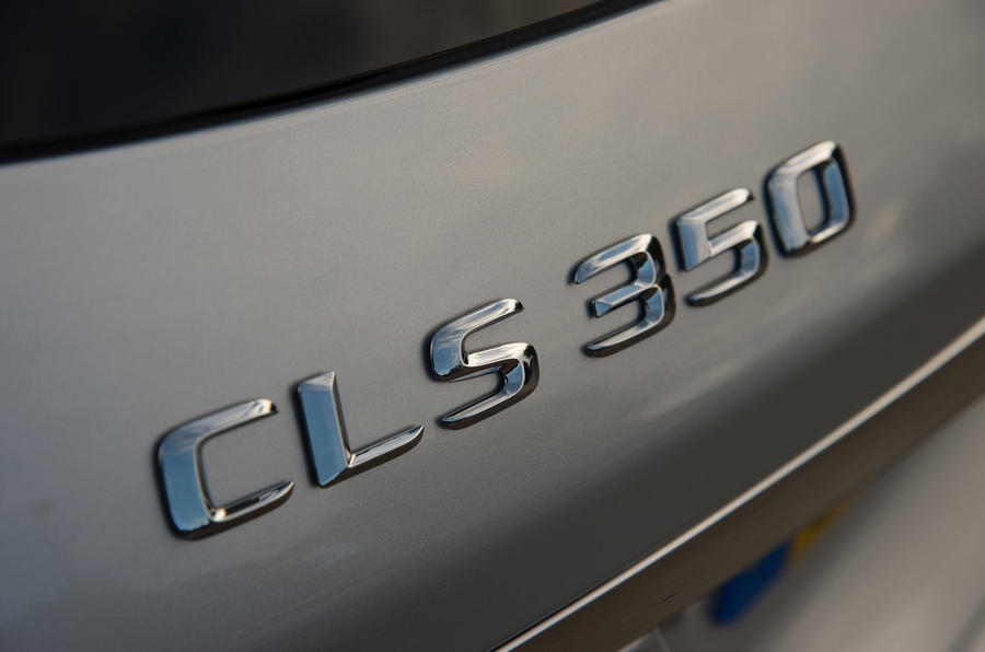 Mercedes-Benz CLS Shooting Brake badging