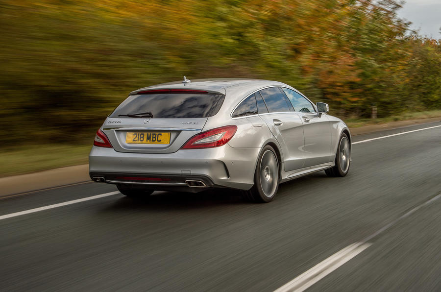 Mercedes-Benz CLS Shooting Brake rear