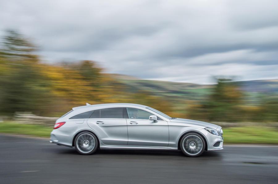 Mercedes-Benz CLS Shooting Brake side profile