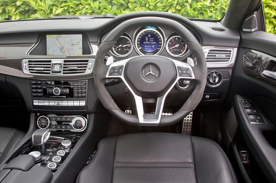 Mercedes-AMG CLS 63 dashboard