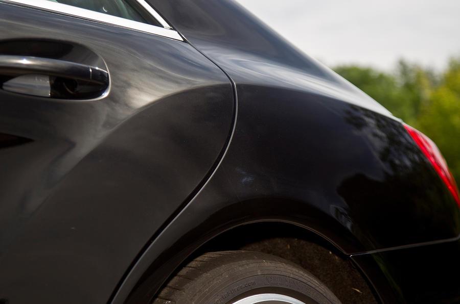 Mercedes-AMG CLS 63 rear wheel arch