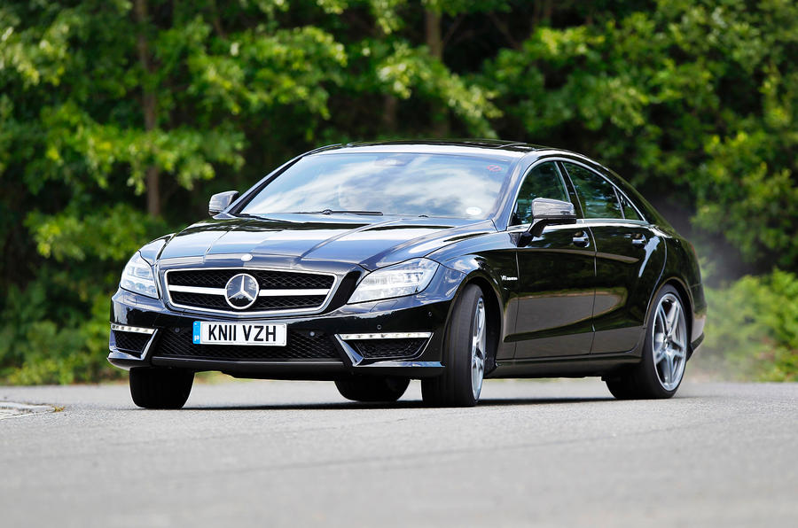 Mercedes amg cls 63 review autocar for Mercedes benz cls 63 amg coupe