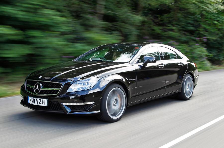 Mercedes-AMG CLS 63 front quarter