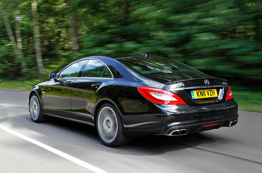 Mercedes-AMG CLS 63 rear quarter