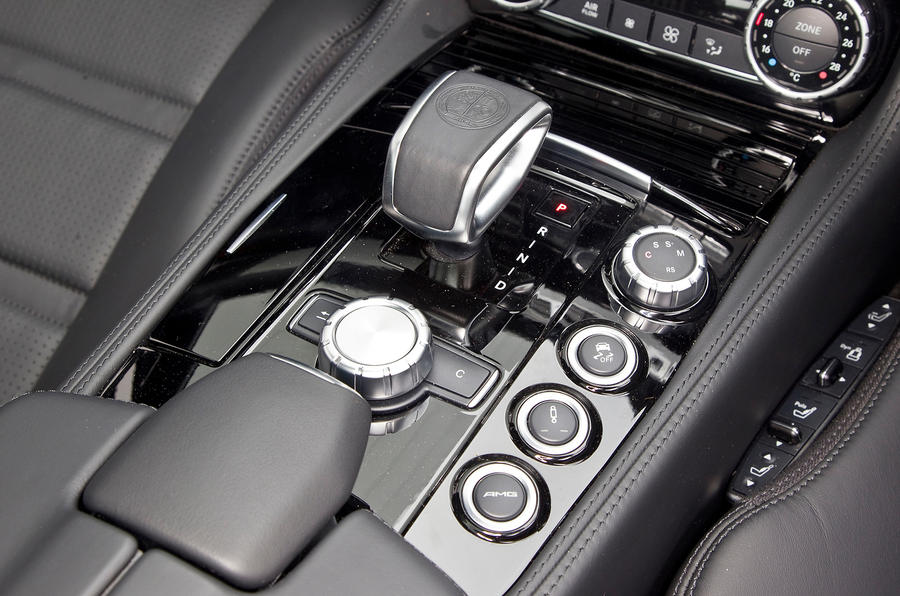 Mercedes-AMG CLS 63 automatic gearbox