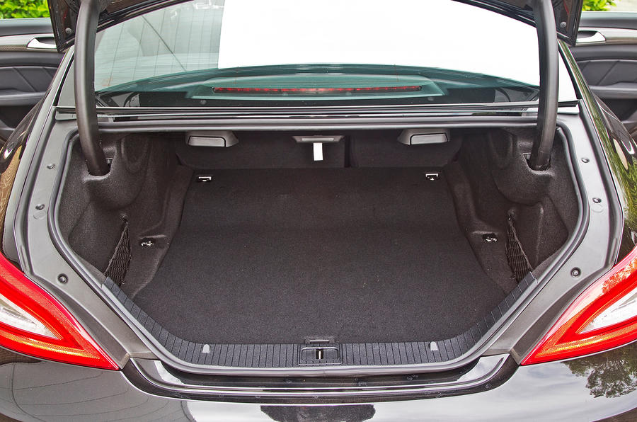 Mercedes-AMG CLS 63 boot space