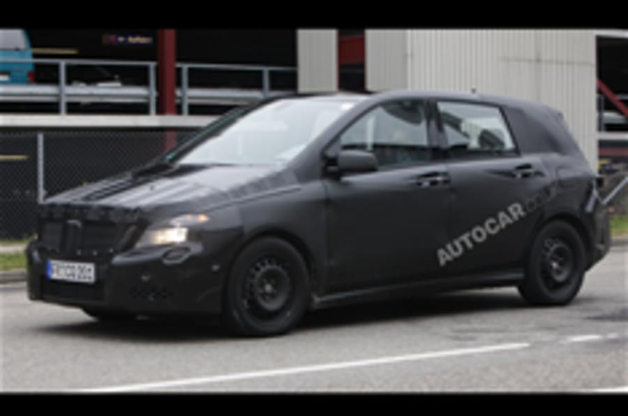 New Mercedes B-class spied