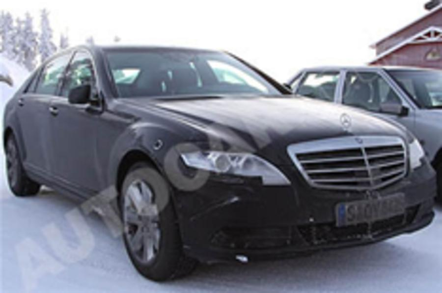 Mercedes S-class gets makeover
