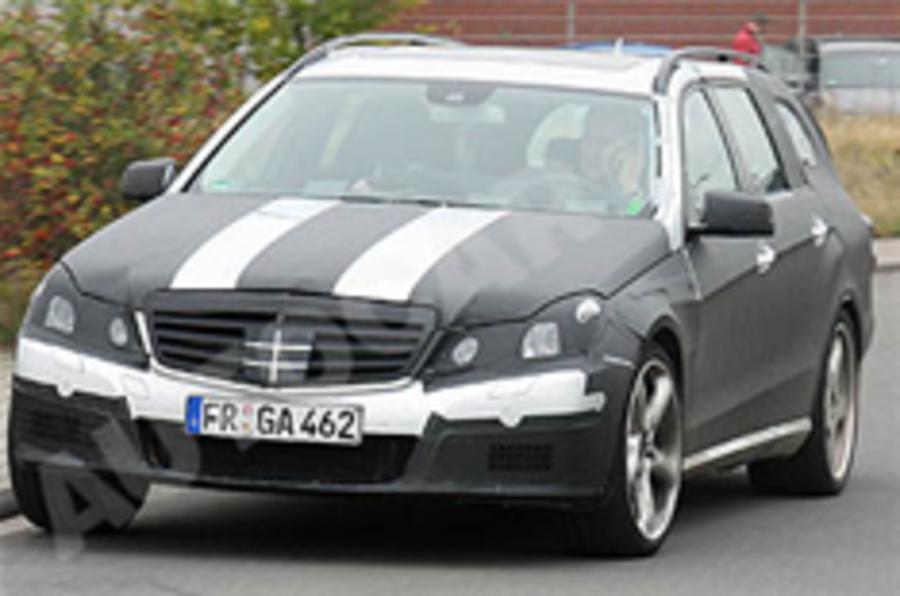 Spied: next Mercedes E63 AMG estate