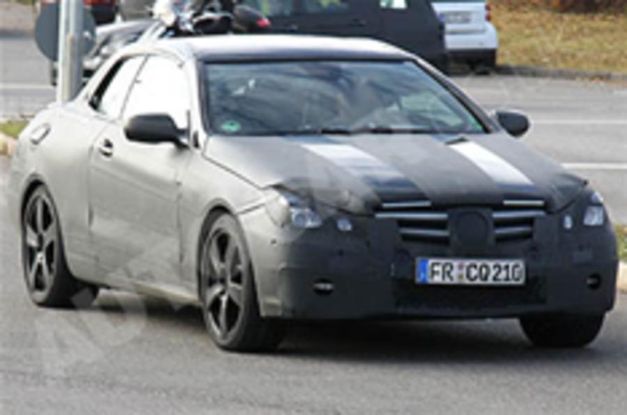 Spied: Merc E-class coupe