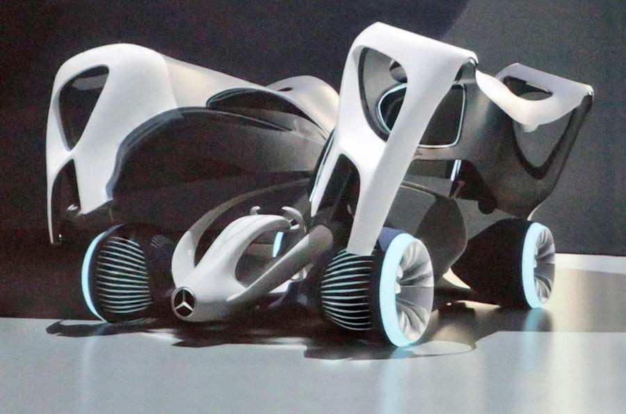 mercs new supercar more pics - Mercedes Benz Biome Seed