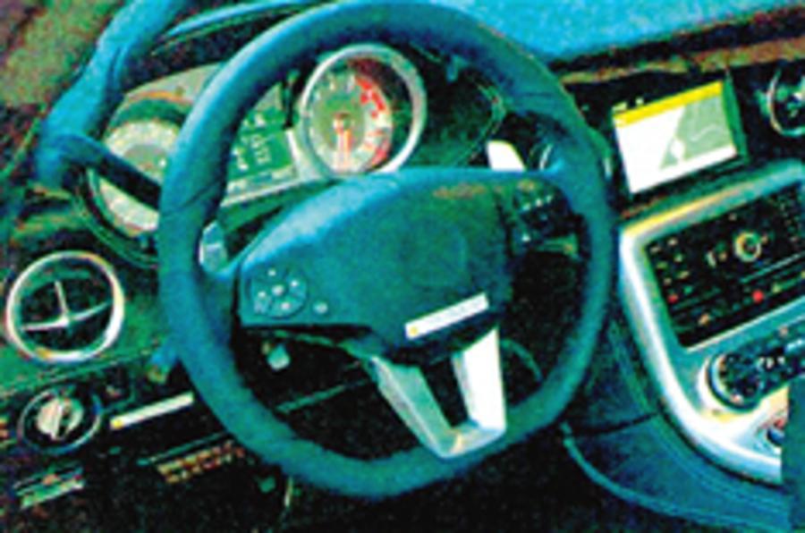 Spied: Mercedes SLC cabin
