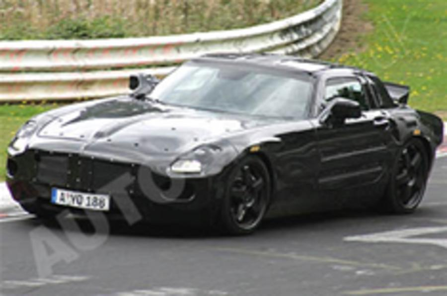 Mercedes SLC spied again