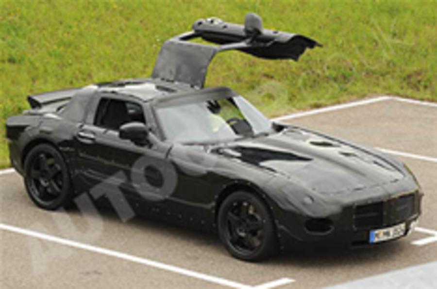 Merc's supercar breaks cover
