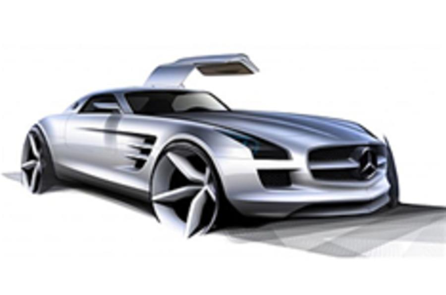 Official pics: Merc SLS supercar