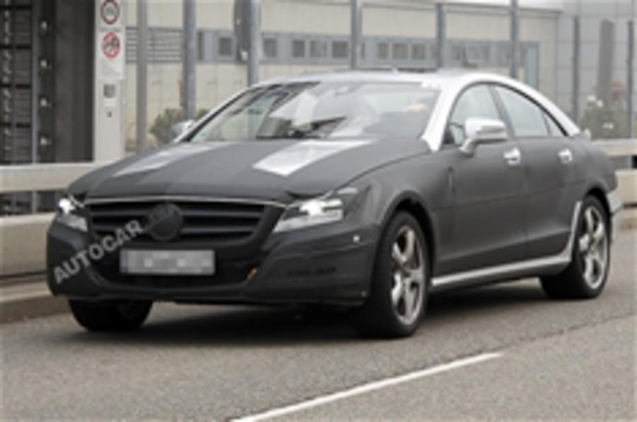New Mercedes CLS spy pics