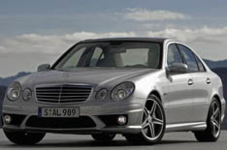 Merc pulls covers off E63 AMG