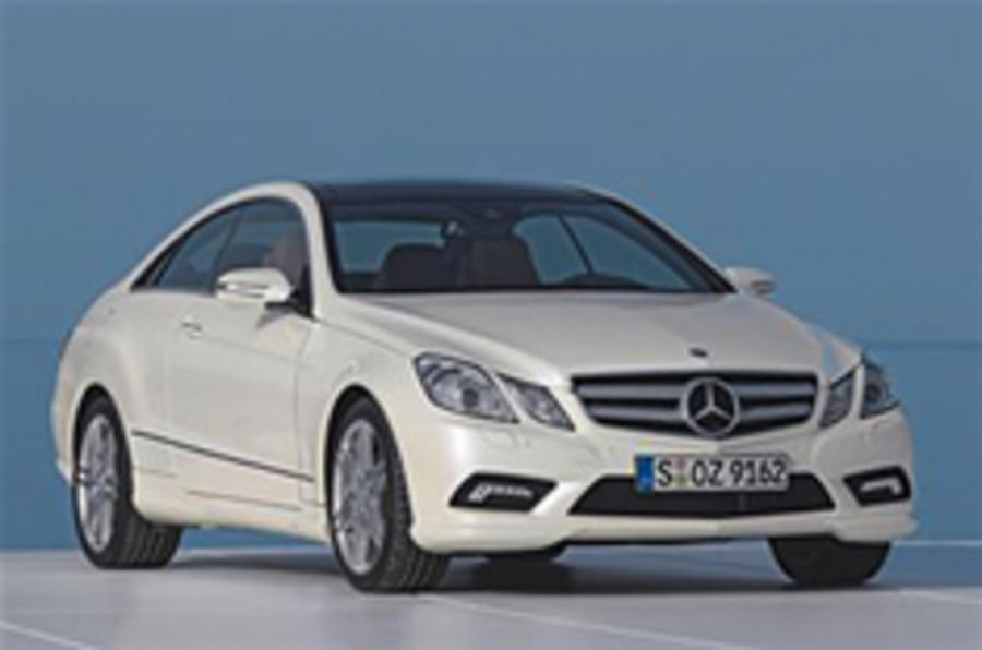 Merc E-class Coupe revealed