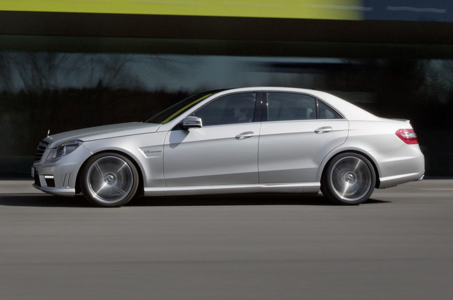 New York motor show: Mercedes E63 AMG