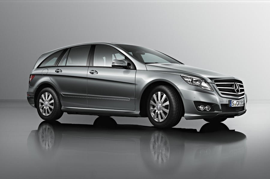New Mercedes R-class revealed